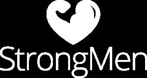 StrongMen white logo